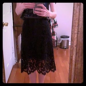 Keepsake Lace Overlay Skirt